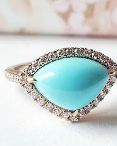 Turquoise diamond ring cropped