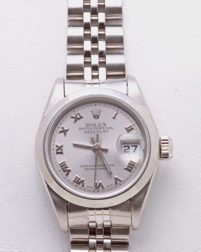 Ladies steel rolex