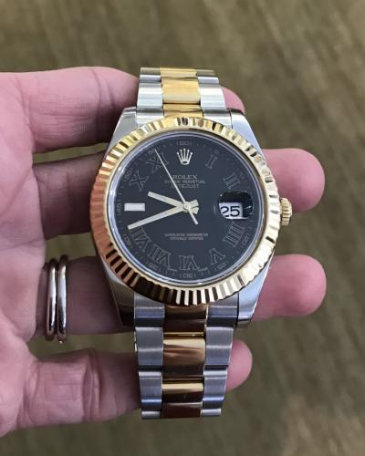 Gents two tone rolex for website