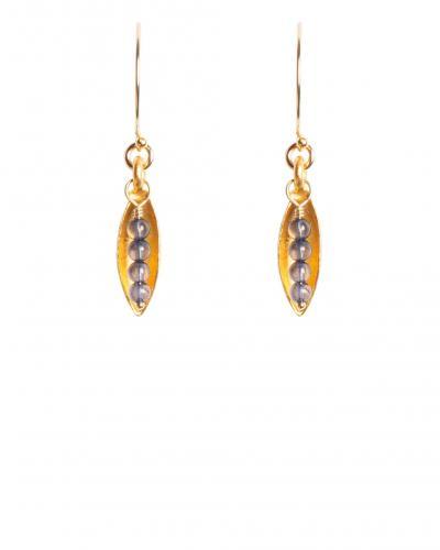 Luna earrings e537 tracy arrington studios