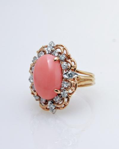 Coral  diamond in 14ky 888 2949